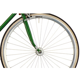 Creme Vinyl Doppio singlespeed/fixed gear dark green